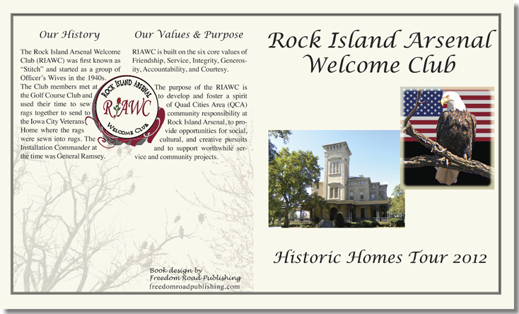 Freedom Road Publishing | Rock Island Arsenal Book Cover