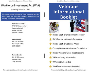 Freedom Road Publishing | Adobe InDesign Veterans Administration Booklet
